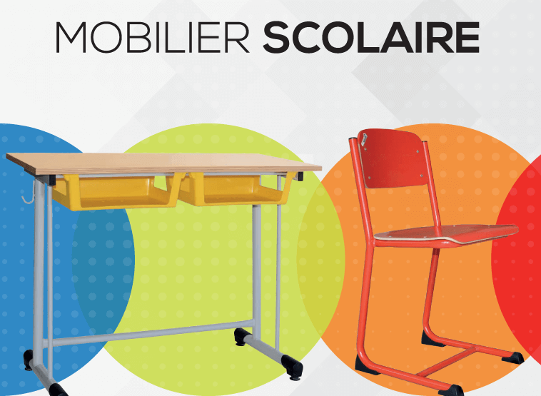 Collection mobilier scolaire SOTUFAB